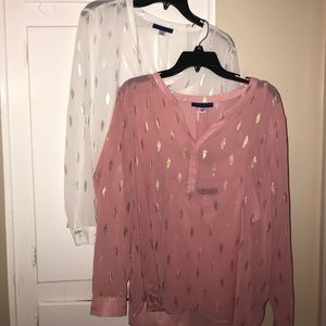 Simply Styled Blouse Shirts.